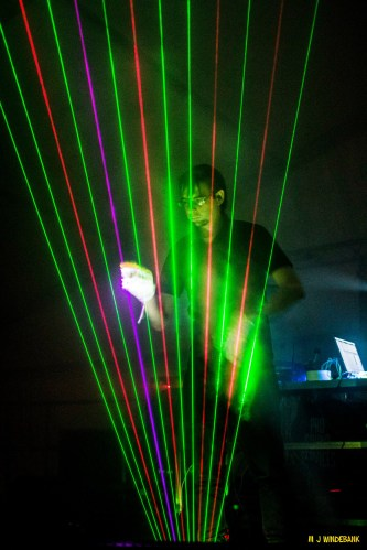 Laser Harp Performance