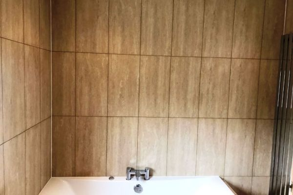 Changing Grout Colour in Greenock Bathroom After