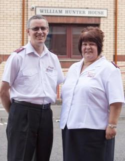 Captains Sara and Wayne Duffy