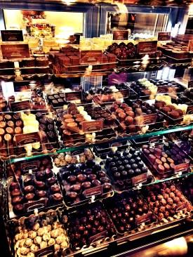 Chocolati stand