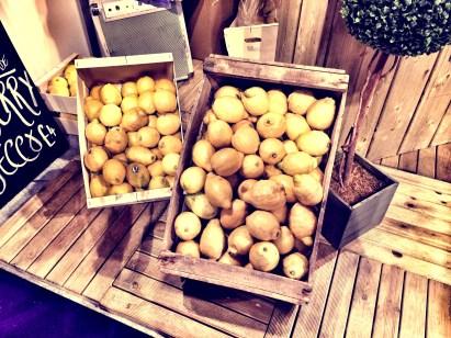 Lovely fresh lemonde stand