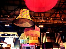 Giant lampshades