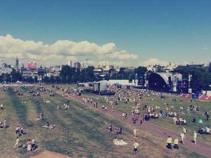 Glasgow Green Live Zone