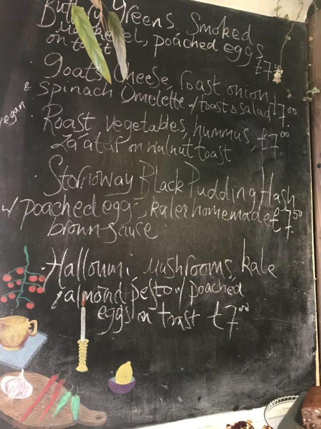 Milk cafe victoria Road govanhill glasgow Menu