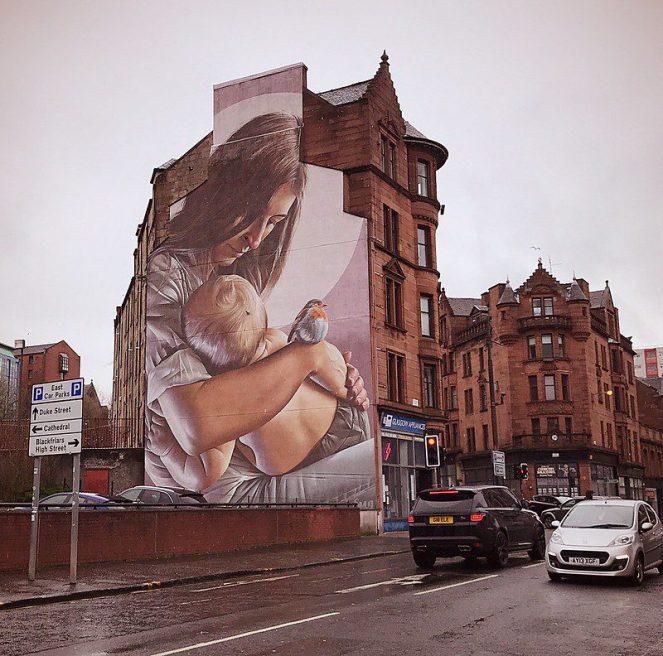 glasgow mural art