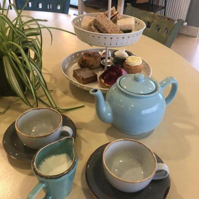 eden mill at home afternoon tea