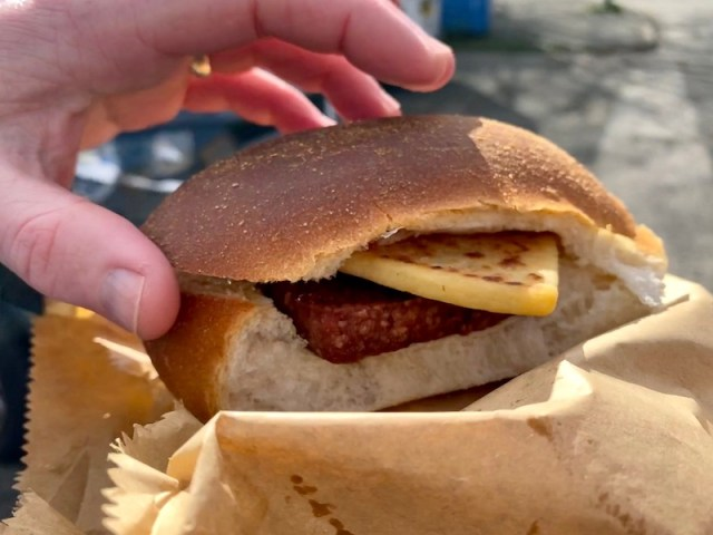 the dairy barmulloch doubler lorne sausage and potato scone