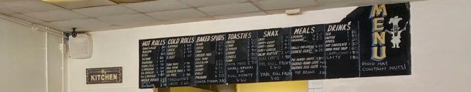 the dairy barmulloch menu