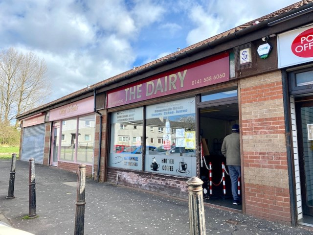 the dairy barmulloch outside
