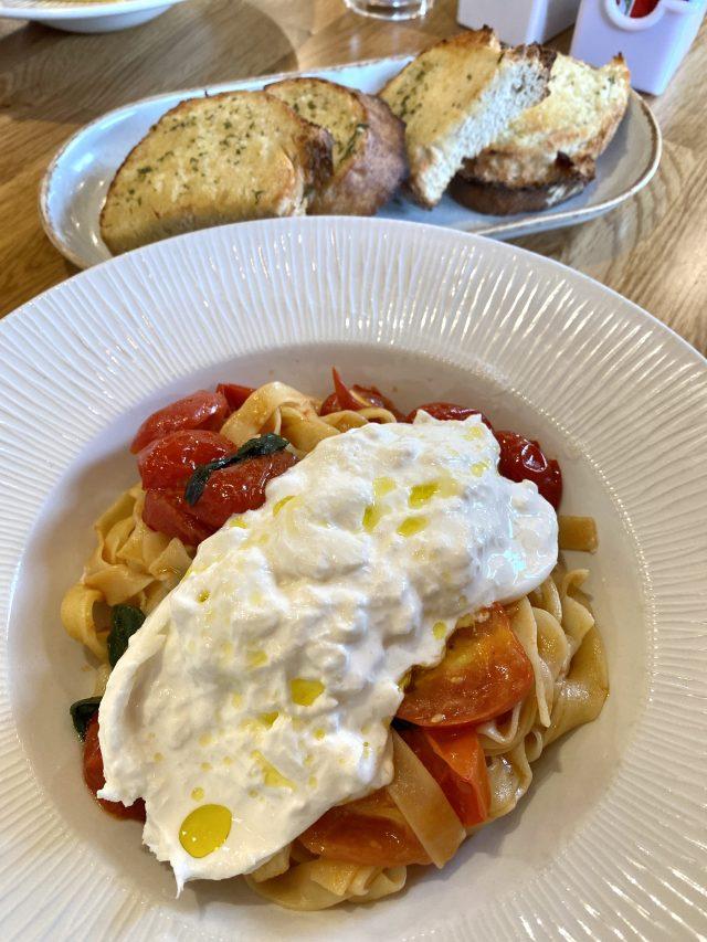 Celinos dennistoun Glasgow Lunch Pasta