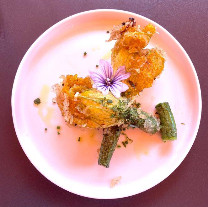 ziques glasgow courgette flowers