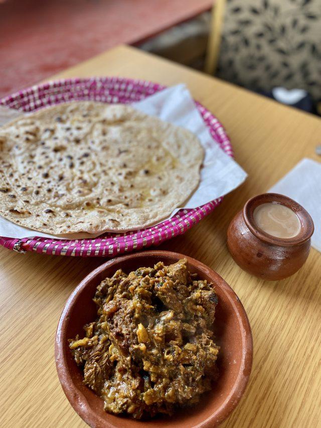 Lamb curry Breakfast Desi Dhaba Chaiwala