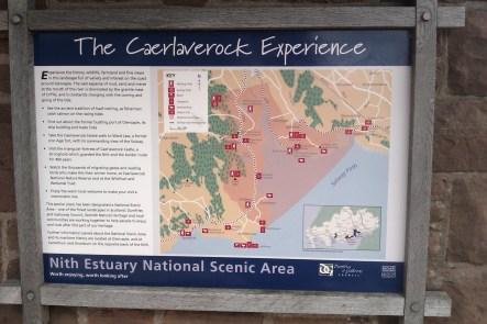 Nith Estuary map