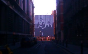 Sea containers building 2012 Royal family mega poster