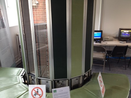 a Cray 1 supercomputer - not allowed to sit down though!