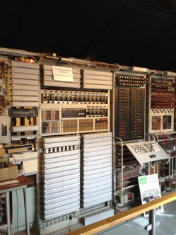 The Colossus rebuild - hot and noisy in this room!