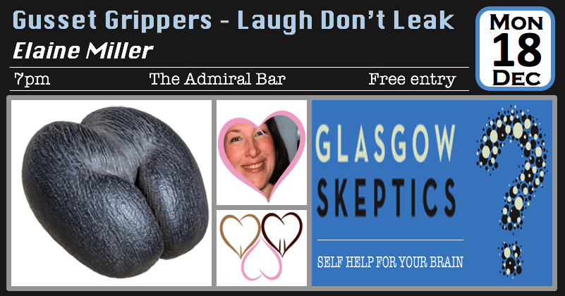 Gusset Grippers event poster