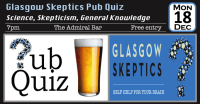 Pub quiz event poster