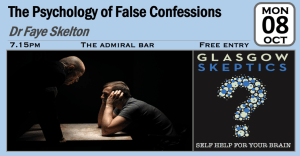 False Confessions Event Poster
