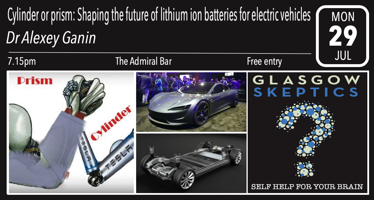 Future of batteries event poster