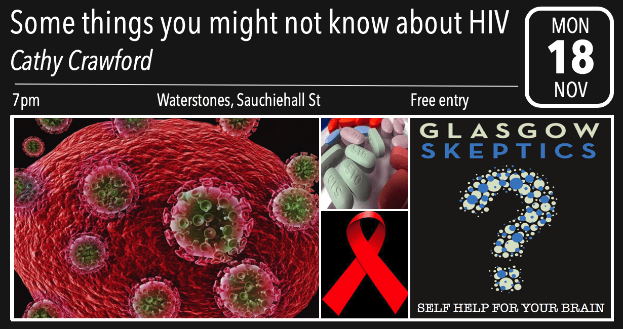 HIV event poster