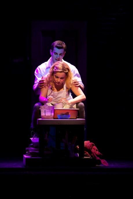 Stewart Clarke & Rebecca Trehearn 6 - Ghost The Musical - Photo Credit Sean Ebsworth Barnes