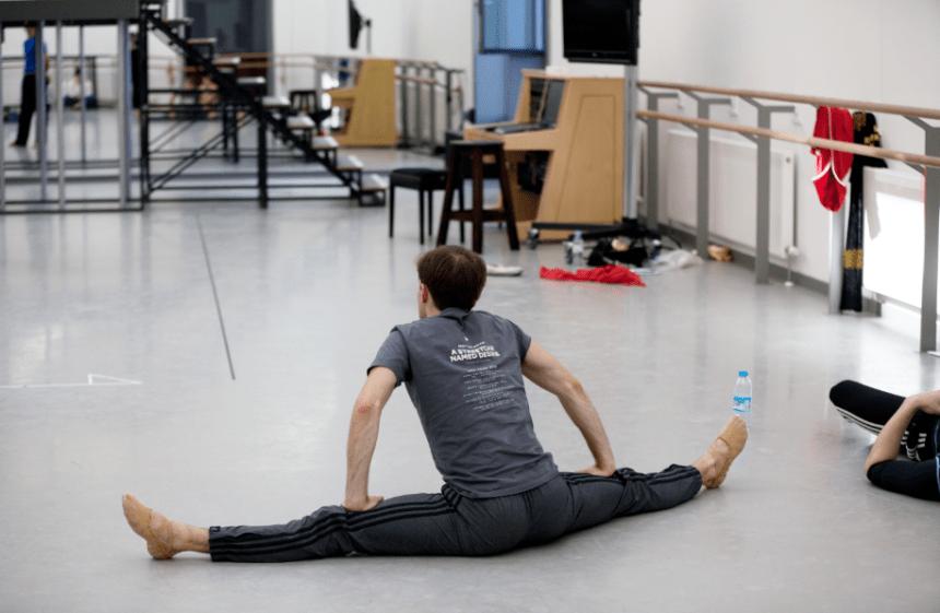 scottis ballet rehearsal room