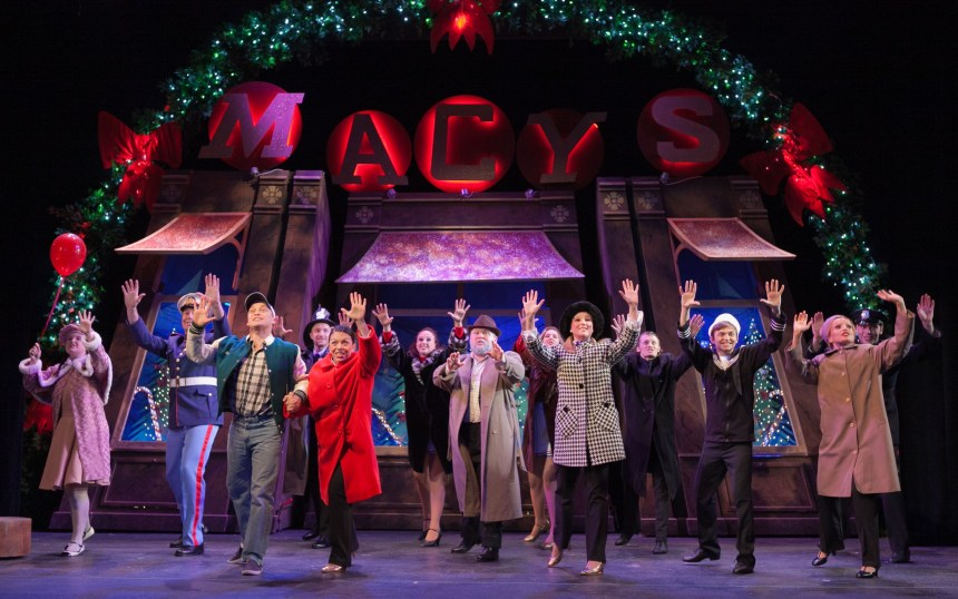A previous cast of Miracle on 34th Street. Photo Credit Darren Bell