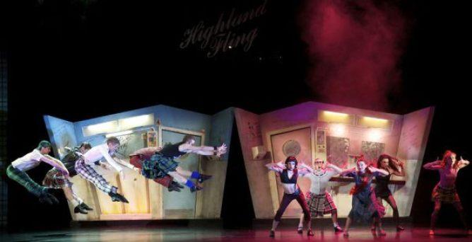 highland fling scottish ballet