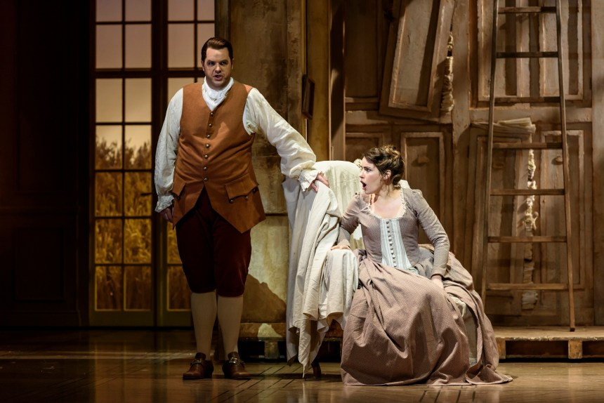 Anna Devin and Ben McAteer as Susanna and Figaro