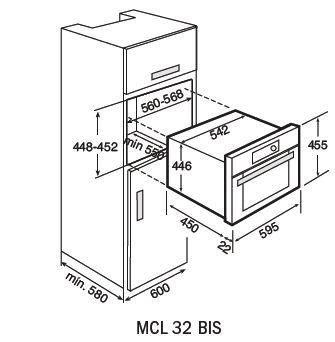 Teka MCL 32 BIS Combi Microwave Oven