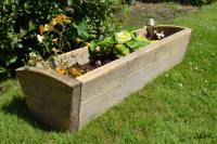 Wooden Gardening Troughs - Garden Ftempo