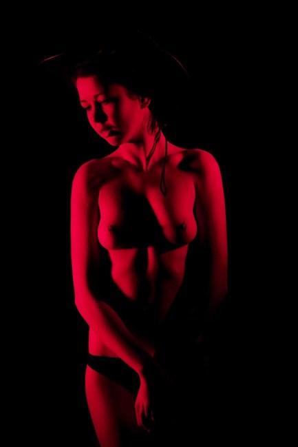 Red Light Low Key Foto 1