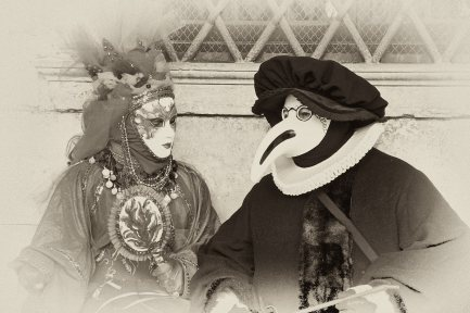 Venezianische Masken, Karneval 10