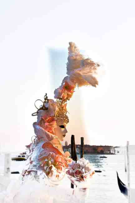 Venezianische Masken, Karneval 12 Venedig, Italien Epson PremiumFine Art Print in Museumsqualität auf Tetenal Glossy Papier