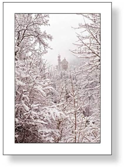 Schloss Neuschwanstein im Winter