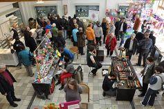 Frühlingsmarkt 2013 unter anderem in den Räumlichkeiten des Glasmuseums