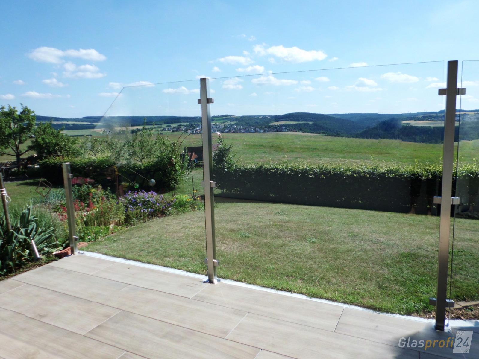 Edelstahl Pfosten Wpc Sichtschutz Zaun Windschutz Element Holz