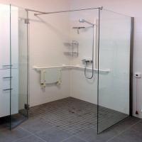 Duschkabine  Duschabtrennung Glas nach Ma  GLASPROFI24