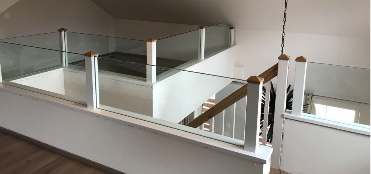 Glas für Balkon
