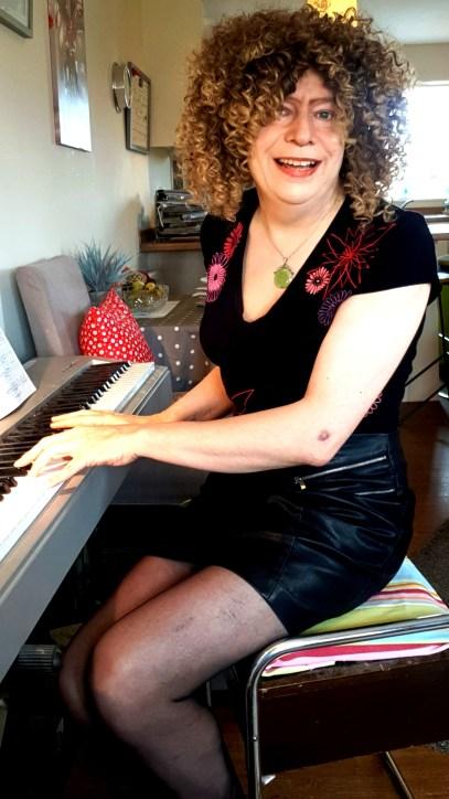 Diana Stone playing Piano May 2021