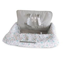 Carter S High Chair Cushion Cover And Sash Hire Newcastle Shopping Cart Highchair Covers Goldbug Carters