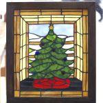 「クリスマスツリーのパネル」