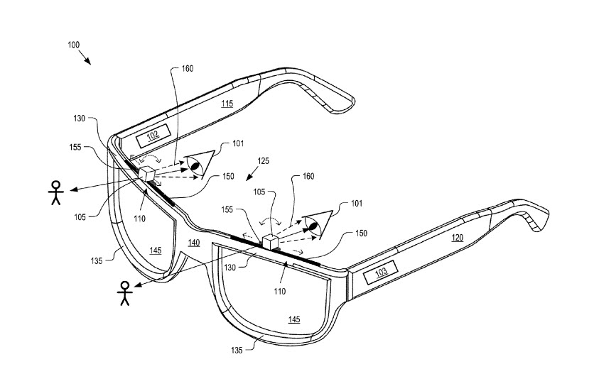New Patent Suggests More Traditional Google Glass Design