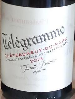 ChâteauNeuf du Pape - Télégramme