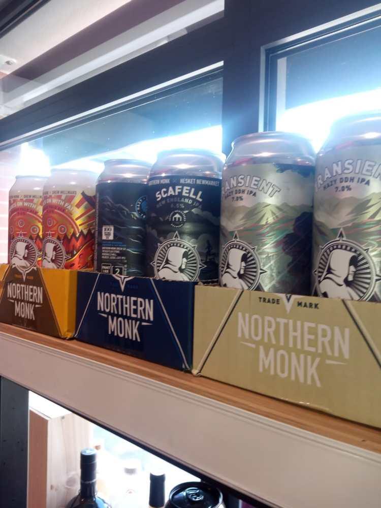 Bières anglaises de la Northen Work