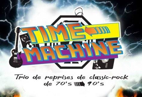 Groupe Time Machine Trio - Concert du 2 juillet 2021
