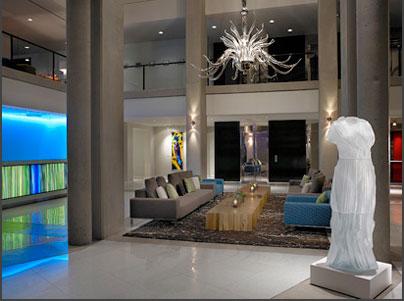 hotel murano award winning lobby