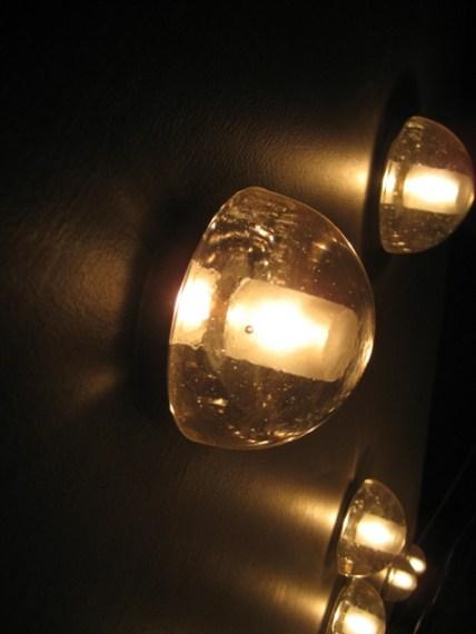cast glass light domes
