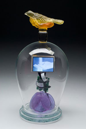 tim tate glass and mixed media
